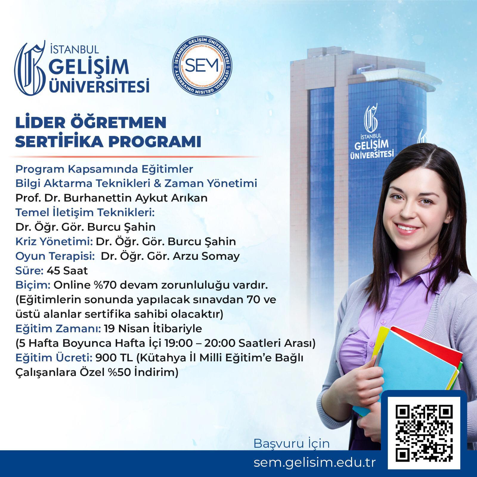 Lider Öğretmen Sertifika Programı